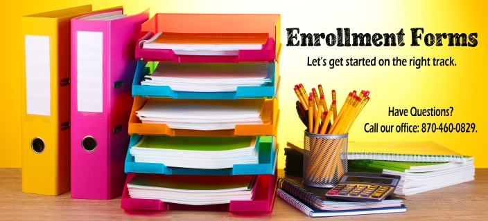Enrollment Forms Banner copy